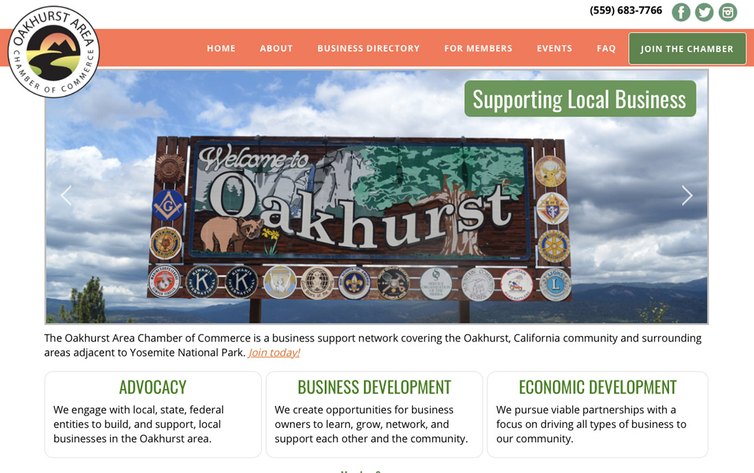 Oakhurst Area Chamber of Commerce