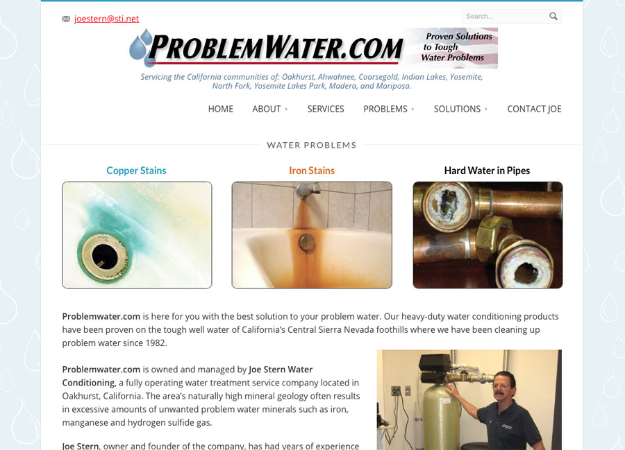 ProblemWater.com – Joe Stern Water Conditioning