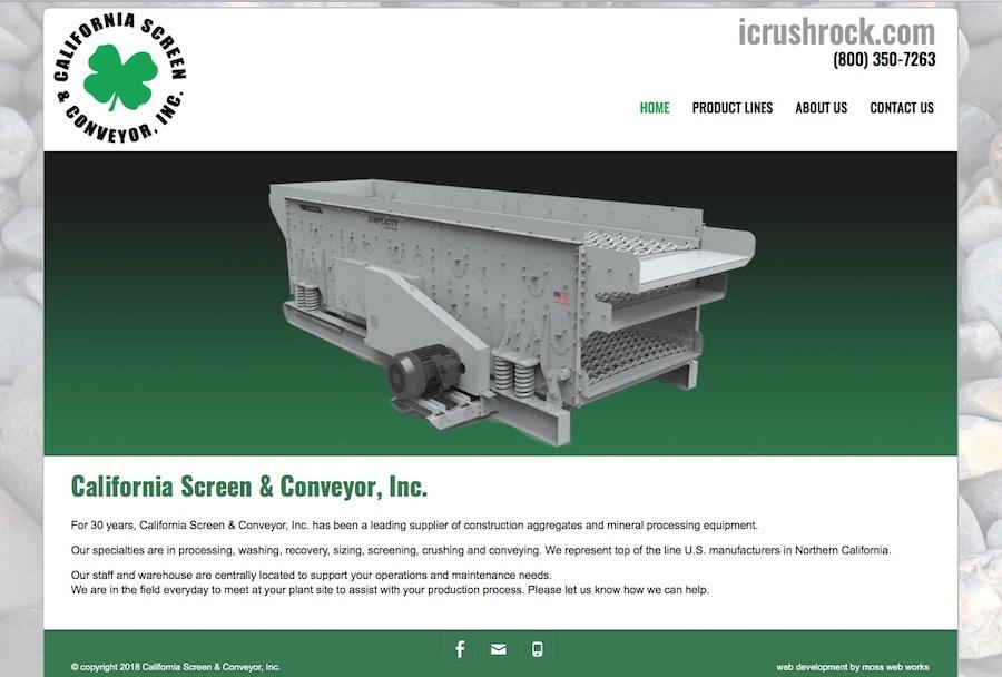 California Screen & Conveyor