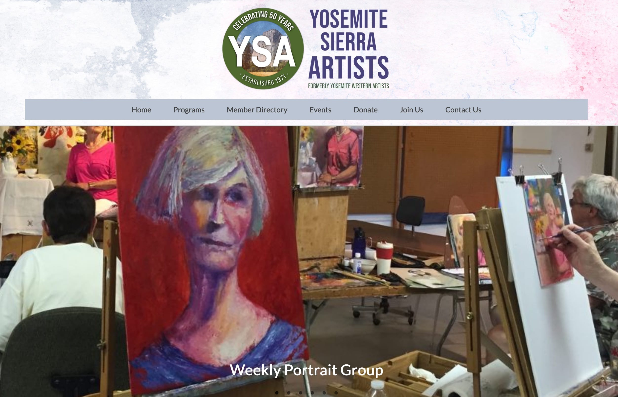 Yosemite Sierra Artists screenshot