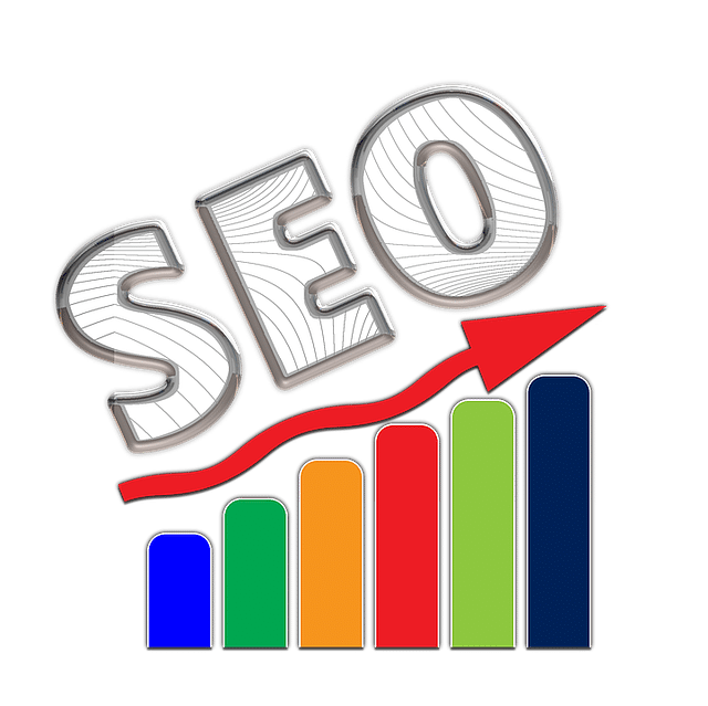 The letters SEO on a bar chart going up