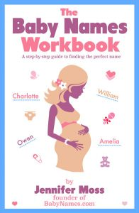 The Baby Names Workbook Book Cover