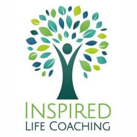 Inspired Life Coaching Logo with Tree