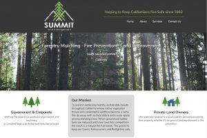 Summt Land Management Home Screen