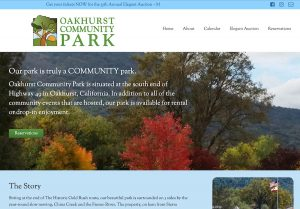 Oakhurst Community Park Home Page