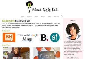 BlackGirlsEat.com Home Page