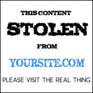 This content STOLEN from YOURSITE.COM - PLEASE VISIT THE REAL THING